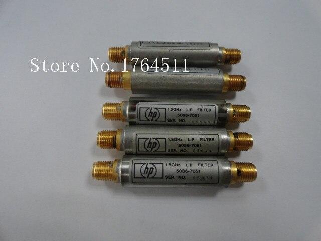 [BELLA] ORIGINAL 5086-7051 1.5GHZ RF Microwave Low-pass Filter SMA