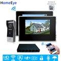 Видеодомофон HomeEye  720P  Wi-Fi  IP  внутренняя связь  от 1 до 2  домашняя система контроля доступа  Android  IOS  дистанционное управление через приложение...