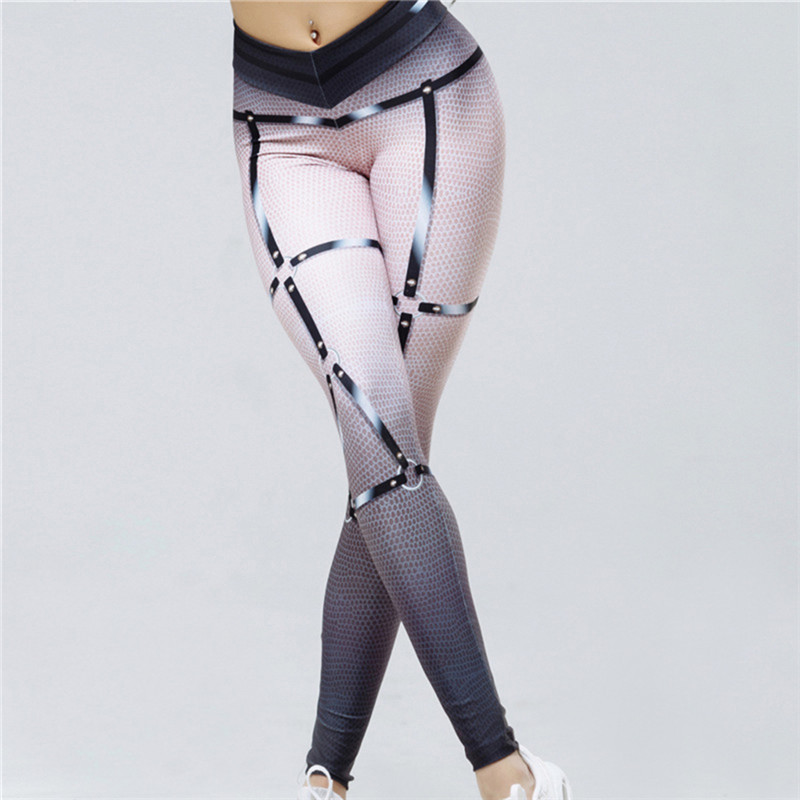 Sports Leggings 2018 Women 3D Print Sexy Leggins Fitness Yoga Pants Gym Workout Active Sportswear Leggings Running Tights