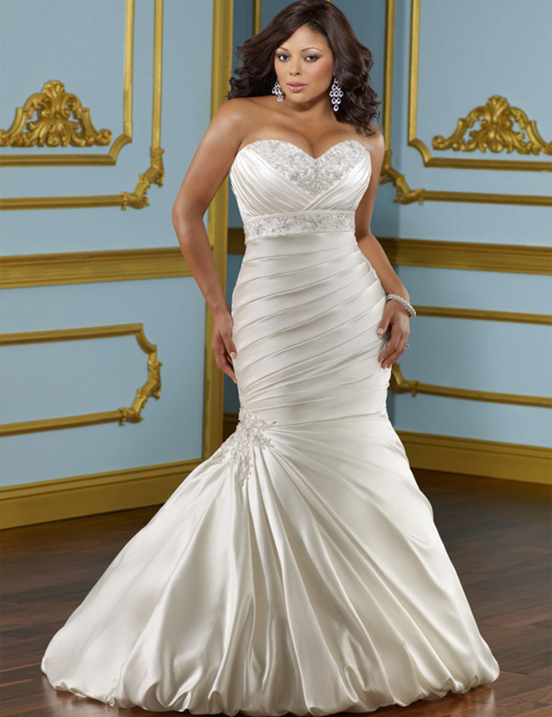 Don s Bridal Mermaid font b Wedding b font font b Dresses b font 2016 Pattern