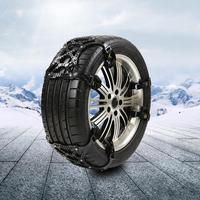Winter Snow Wheel Tire Double Buckle Anti Skid Thickened Beef Tendon Chain For Cars Suv Car