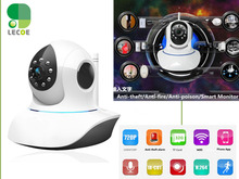 Wireless 720P HD IP Camera Smart P2P Wifi Surveillance Security Cam support Wifi 433 Mhz Sensors & Alarms Detector Sensor