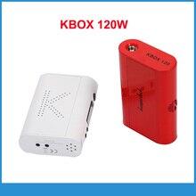 ต้นฉบับKanger KBOX 120วัตต์ควบคุมอุณหภูมิวัตต์ตัวแปรบุหรี่อิเล็กทรอนิกส์กล่องสมัยVaporizerมอระกู่สำหรับE Cig batttery
