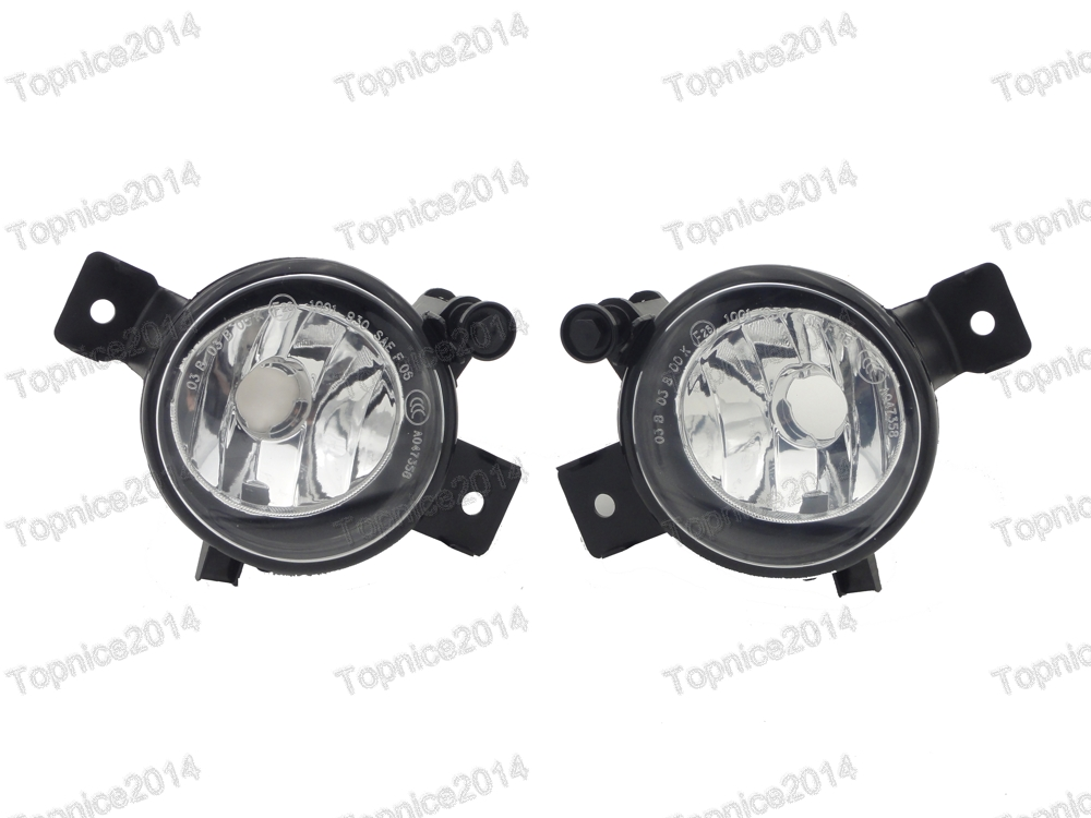 1Pair Replacement Fog Driving Lights Lamps For BMW X5 E70 LCI 2011 2013