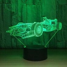LED супер гонки модель игрушки интерьера модель с LED коллекция подарок украшения