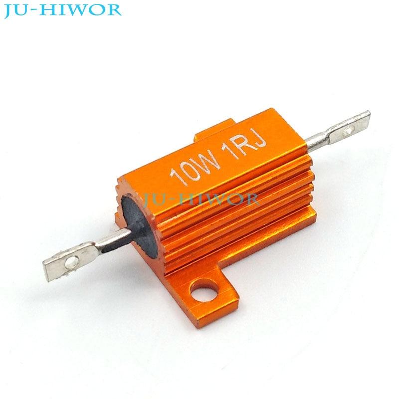 10pcs 10W 3.3 Ohm 5/% Tolerance Fixed Type Wire Wound Resistors Power Resistors