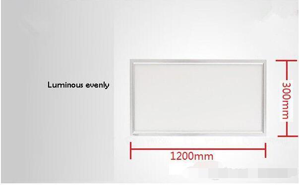 X4 Светодиодная панель 300x1200 Горячая высококачественное устройство для поверхностного монтажа 3014 48 Вт потолочное освещение для кухни офиса фокус с Драйвером