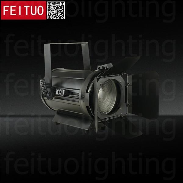 2pcs/lot Stage Fresnel Lighting 100W LED Theater Spot Light Zoom Profilm WW/CW/RGBW 4IN1 DMX Spotlight Shooting Lights