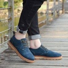 цена Whoholl Classic Men Flats Gentleman Oxford Genuine Leather Dress Shoes Men Flat Shoes Luxury Casual Shoes Size 39-45 в интернет-магазинах