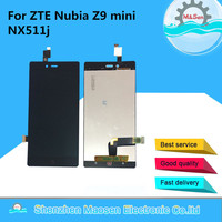 Brand Original New LCD Screen Display Touch Digiziter For ZTE Nubia Z9 Mini NX511j Black Free