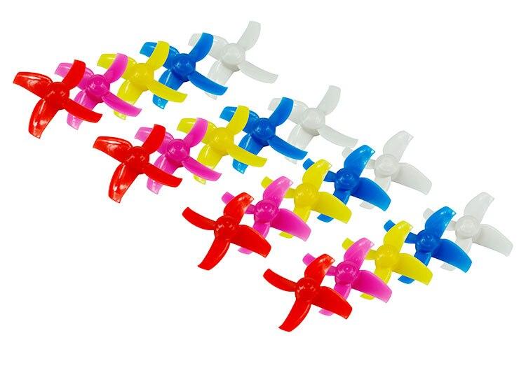 10Pairs LDARC 40mm/ 48mm 4-Blades Propeller Props CW CCW for KINGKONG Tiny R7 7X INDUCTRIX FPV+ 8X DIY FPV Brush Mini Quadcopter 50 pairs 100pcs 4040 propellers high quality 4 inch 4 blade propeller cw ccw for diy mini race drones 180 qav r quadcopter