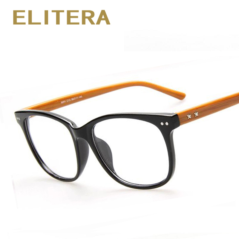 Eyeglass Frame Fashion 2017 : ELITERA 2017 new brand Fashion Retro Designer glasses ...