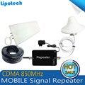 1 conjunto x 850 Mhz CDMA Repetidor De Sinal para Celular, CDMA850Mhz celular Amplificador de Sinal De Reforço, 2g Amplificador de Comunicação Móvel