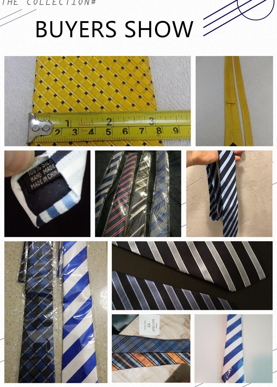 DHL TNT Free Shipping 40pcs lot 52 Styles Tie Wholesale Classic 8 Cm Mans Tie 100 Silk Luxury Striped Business Necktie Cravat in Men 39 s Ties amp Handkerchiefs from Apparel Accessories