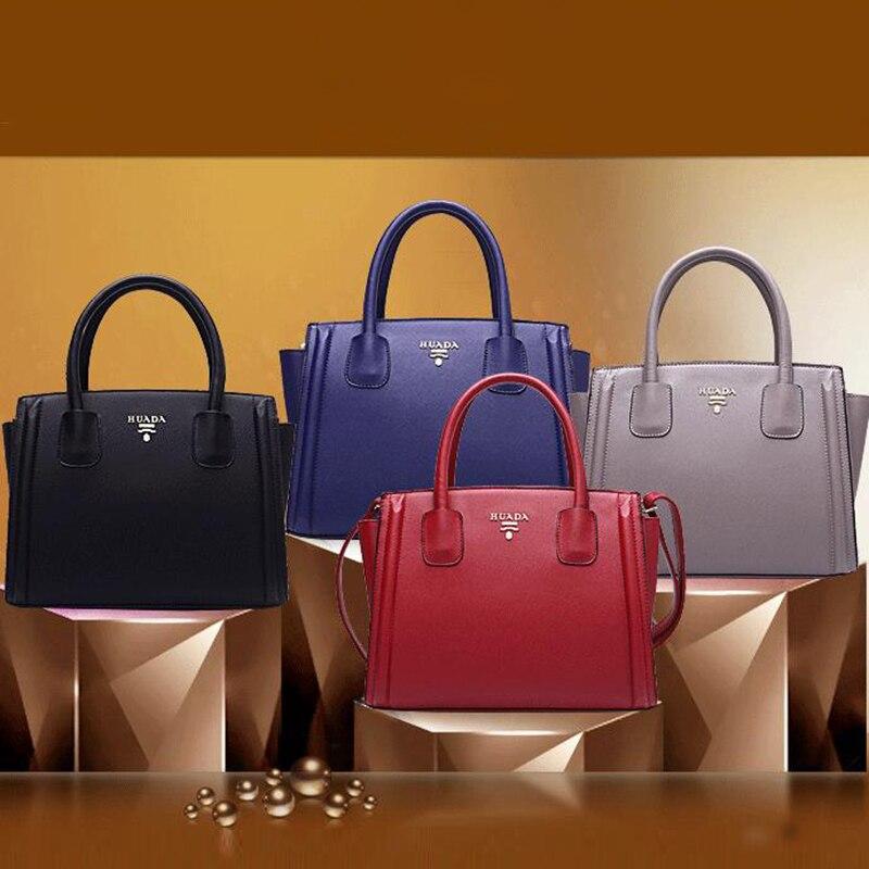 Creative Brief Genuine Leather Woman Top-handle Bag Fashion Solid Color Zipper Open Pocket Handbag Hobos Shape Shoulder Bag Tote open shoulder solid hoodie