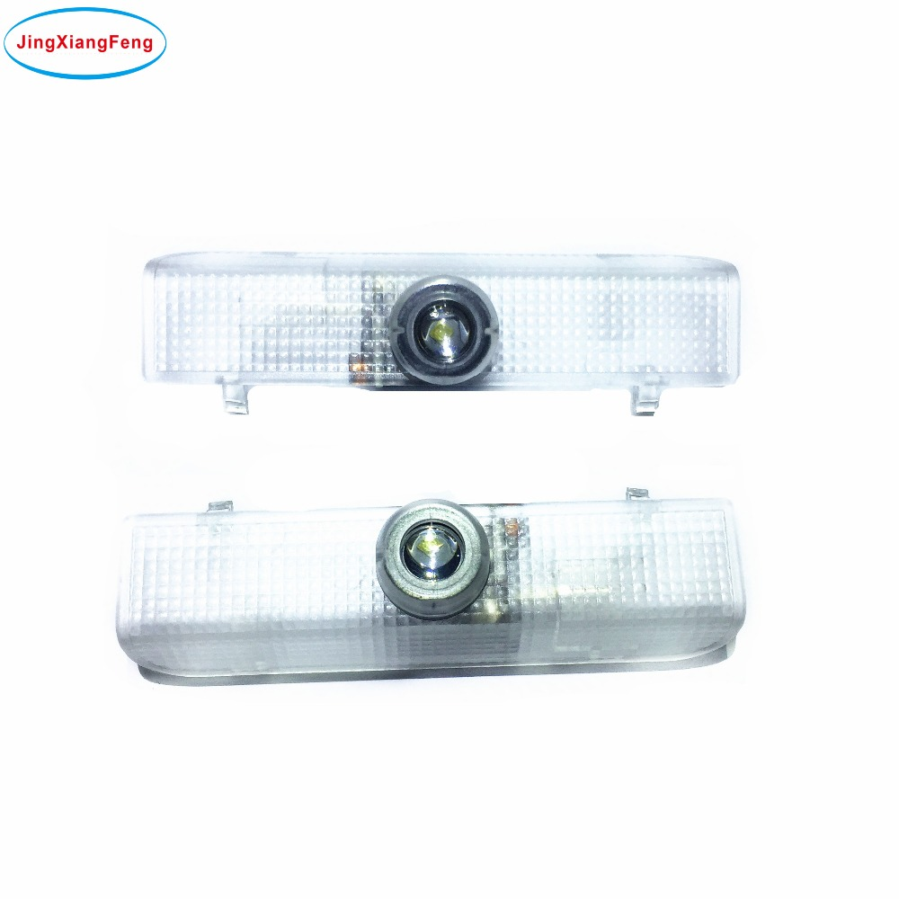 JingXiangFeng 2pcs For Nissan Car Door Lights LED Welcome Projector Logo Ghost Shadow Door Light LED Courtesy Laser