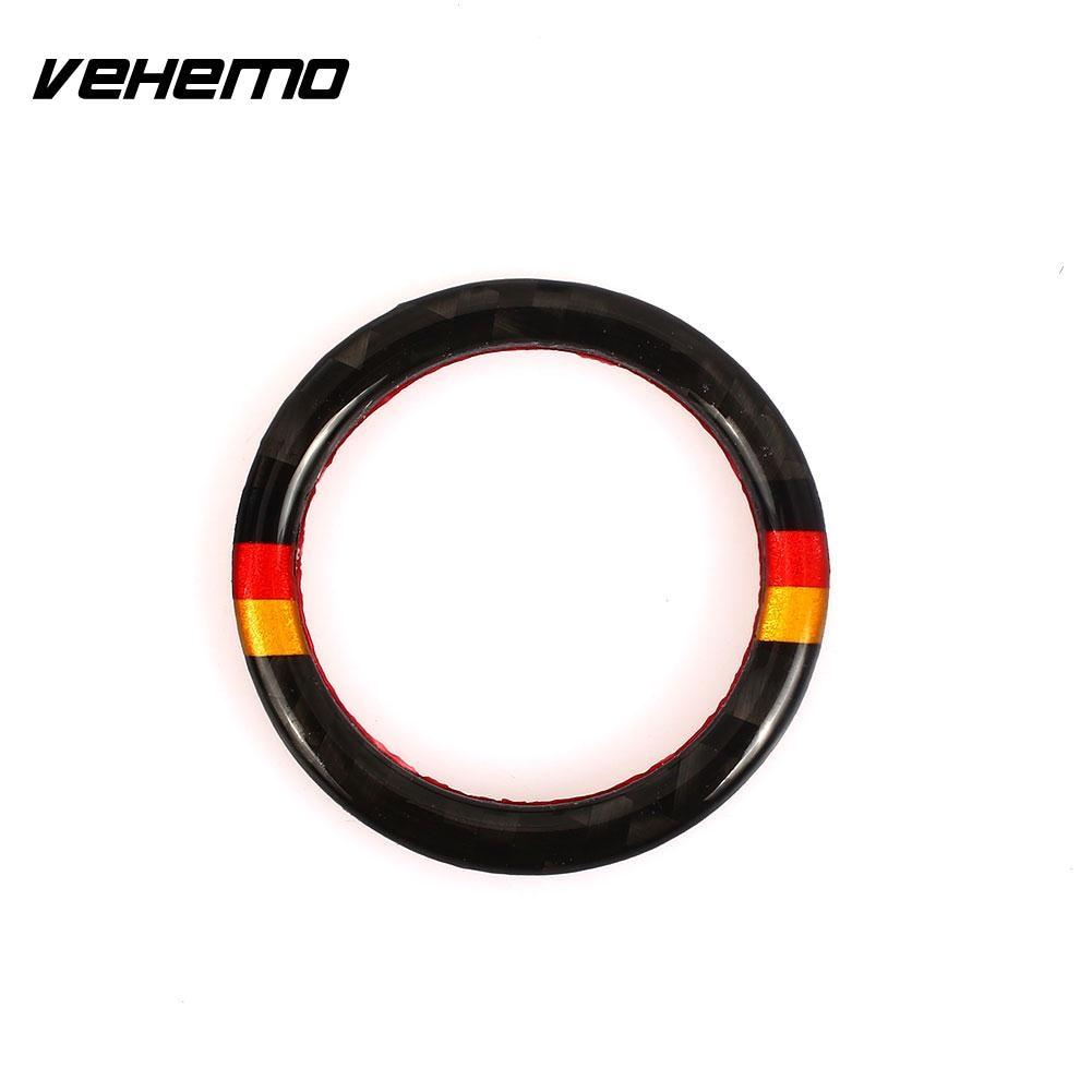Vehemo Carbon Fiber Decor Trim One Button Start Decorative ...
