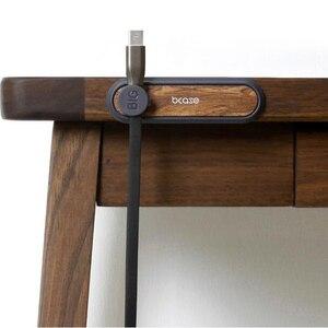 Image 2 - כל מכירה Youpin Tup2 USB כבל אחסון Wired ארגונית קליטה מגנטית קליפ מחזיק שולחן במשרד ביתי כבל ארגונית