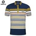 Мода Новый Бренд мужская Рубашка Поло Для Мужчин Британский Поло 100 хлопок Мужчины С Коротким Рукавом Футболки Плюс Размер Haoyu Известный Бренд