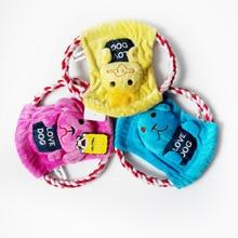 Free Shipping!Cute pet dog toy plush pet toys dog rope toys dog chew toys,Frisbee series