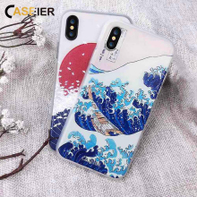 CASEIER Phone Case For iPhone 7 6s 6 Plus 5s 5 SE Capa Soft TPU Ultra-thin Japanese Style Cover Silicone Shell