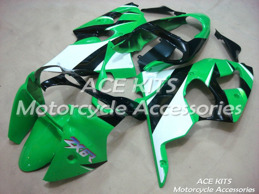 New ABS Motorcycle Fairings Kit Fit For Kawasaki  ZX6R ZX-6R 00 01 02 Ninja 636 2000 -2001- 2002 All sorts of color GG9New ABS Motorcycle Fairings Kit Fit For Kawasaki  ZX6R ZX-6R 00 01 02 Ninja 636 2000 -2001- 2002 All sorts of color GG9