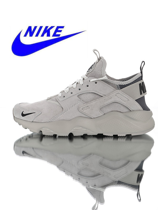 quality design 0a171 bc2c0 Nike Air Huarache Ultra Suede ID Men s Running Shoes Original Outdoor  Sports Shoes Shock Absorption Breathable 829669-200