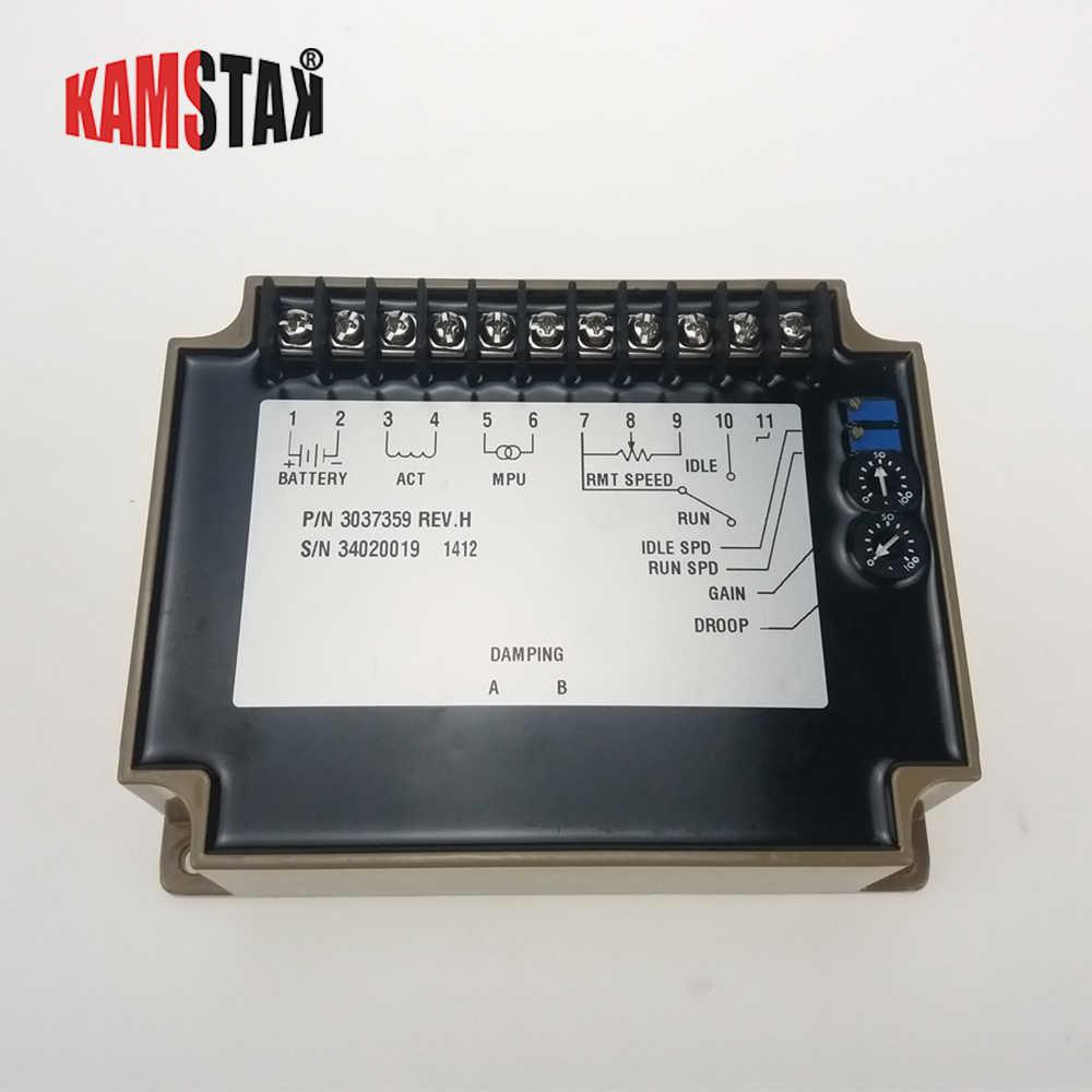 Регулятор скорости 3037359 деталь генератора дизельного двигателя электронный govornor