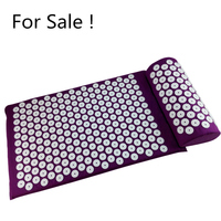 Factory Stock For Acupressure Shakti Yoga Message Pain Reliefe Cotton ABS Spikes Mat And Pillow Set