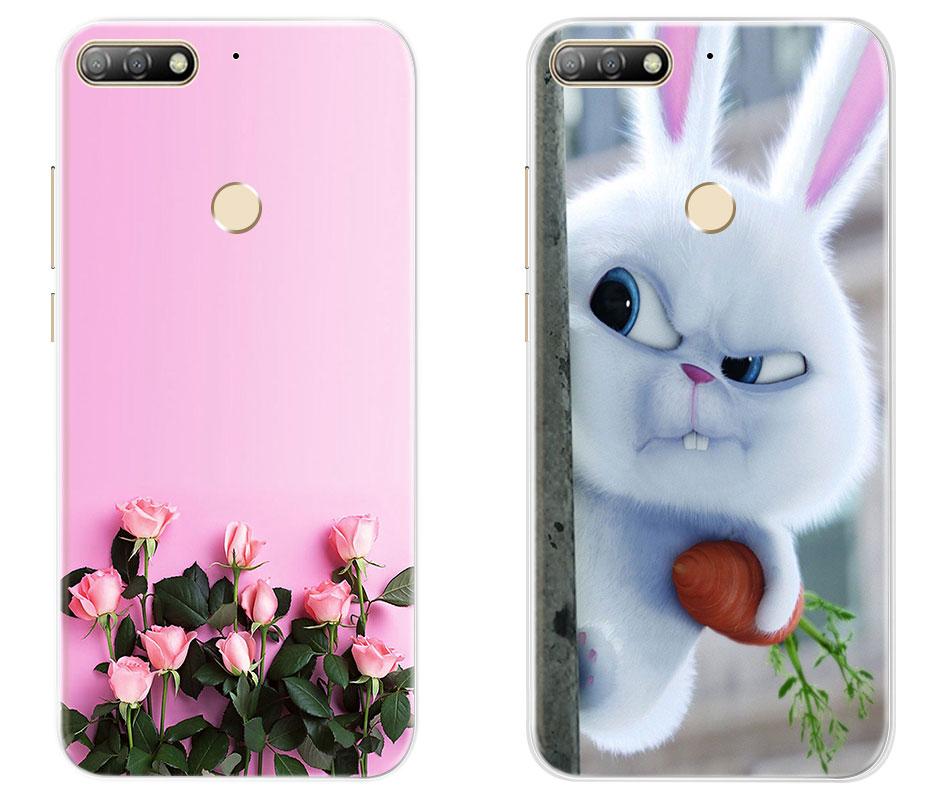 d77a0a6fea497 Click here!! Miękka TPU etui na Huawei Honor 7 C 7C 8C 8X Miękkiego  Silikonu Case Honor 7C Pro Tylna Pokrywa Dla huawei Y7 prime 2018 y7  Przypadki Telefonów