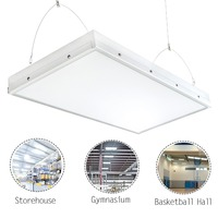 2FT Linear LED High Bay Light,120W with 15000 Lumens,5500K Daylight White Equivalent,Great High Bay LED Shop Light