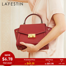 LA FESTIN Luxury designer handbag 2018 new Cow leather handbags Shoulder bags Messenger bags for women bolsa feminina(China)