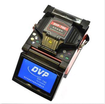 Envío libre dvp-760 FTTH Fibra óptica de la máquina que empalma fusionadora dvp760 fusionadora