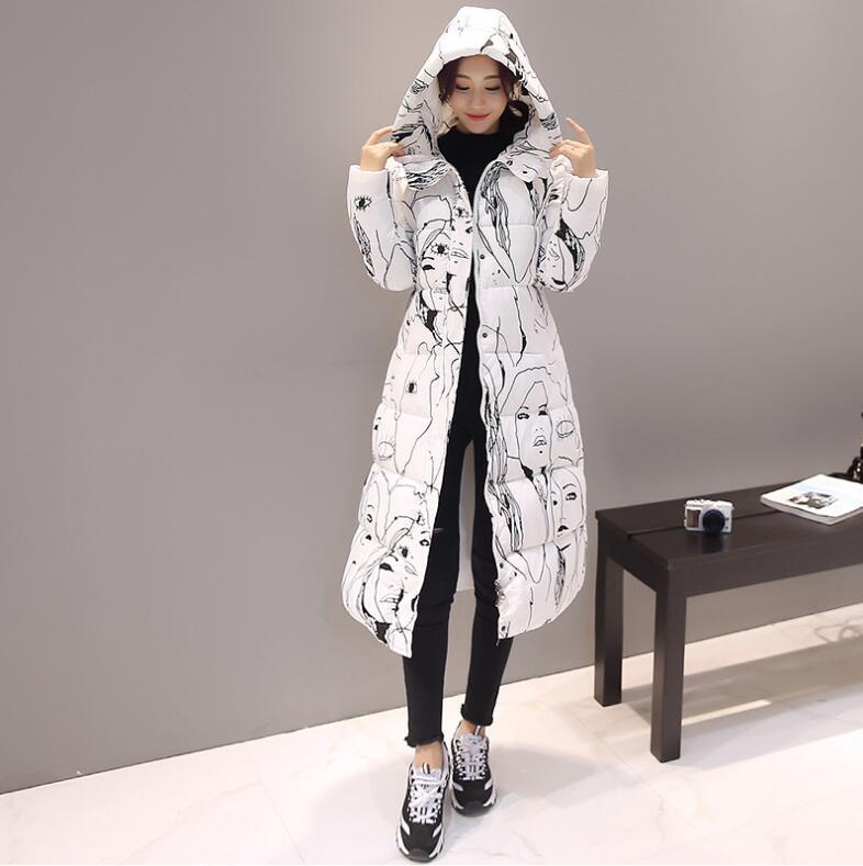 Beige Pour noir bleu Épais Manteau Nouveau De Survêtement Coton rouge D'hiver Parkas or Femmes Outwear Long Veste gris rose Hiver Px6ZOSP