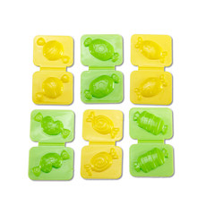 6pcs Candy Mold Color plasticine clay Maker Tool set Creative DIY Play Dough Mold Plasticine Mud kids Educational toys gifts(China)