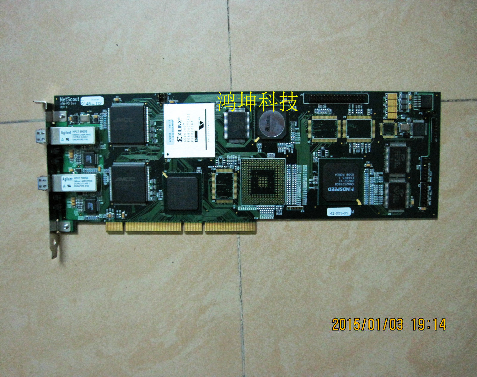 1PCS  NetScout ATM-PCI REV D 9146 D2 42-053-05 selling with good quality