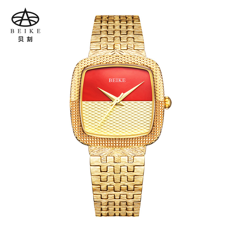 BEIKE Brand Watch Quartz Ladies Gold Sliver Fashion Wrist Watches Steel Women Wristwatch Girls Female Clock Hours Montre Femme golden clock gold fashion ladies watch women gold stainless steel quartz watches female wrist watch wholesale chenxi gold watch