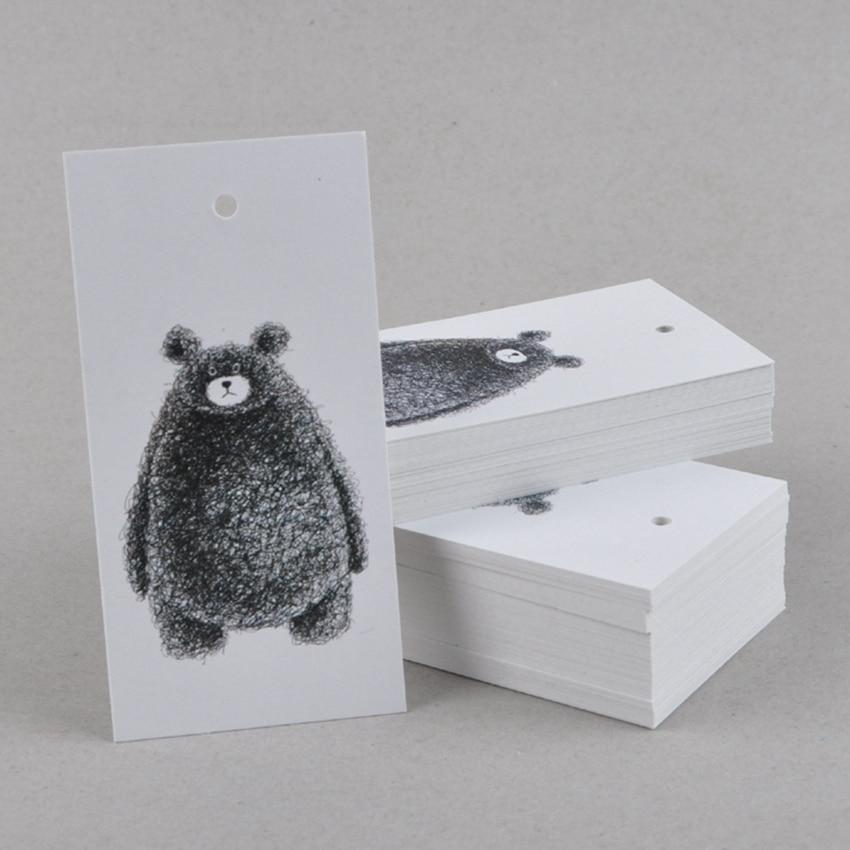 500pcs lot free shipping Custom garment tag clothes hangtag printed paper tags price tag300gsm