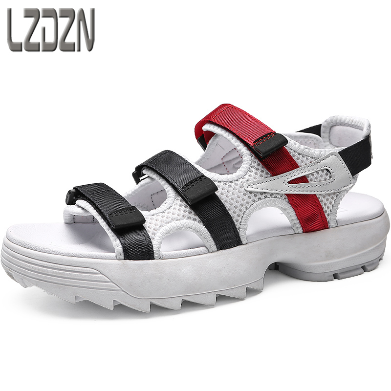 mens shoes high school students summer boys mens leisure beach Sneakers Men Slippers Flip Flops casual Shoes beach outdoor