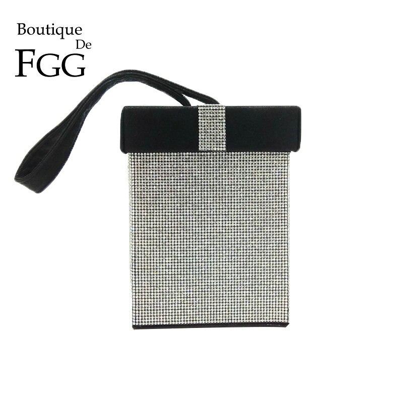 Kupplungen Aufrichtig Boutique De Fgg Kontrast Farbe Damenmode Erfasst Handtasche Geschenk Box Abend Wristlets Tote Handtasche SorgfäLtige FäRbeprozesse