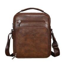 Luggage Bags - Handbags - New 2017 Kangaroo Men Bag Famous Brand Leather Men Shoulder Bag Casual Small Messenger Crossbody Bags Male Designer Business