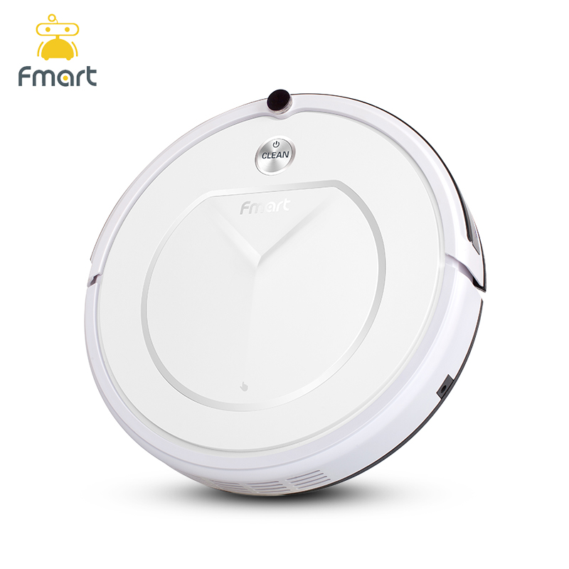 Fmart FM-R150 Smart Robot Vacuum Cleaner Cleaning Appliances 128ML Water Tank Wet 300ML Dustbin Sweeper Aspirator 3 in 1 Vacuums molisu a6 robot vacuum cleaner window sweeper cleaning appliances with smart remote control window cleaning robot