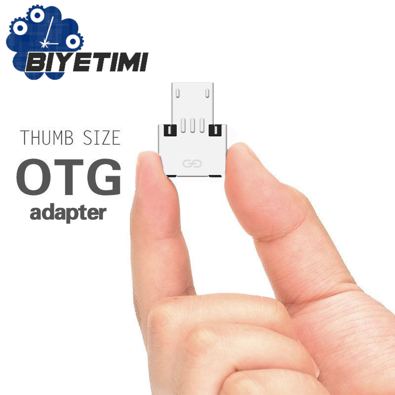 USB A To Mirco USB Otg Adapter Connector Converter For Android Smartphone Tablet