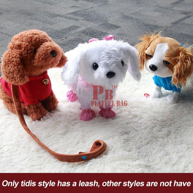 Enfants de électrique jouet chien peut parler et de danse, en peluche intelligente robot chien simulation, Teddy chien commande vocale fonctionnement - 2