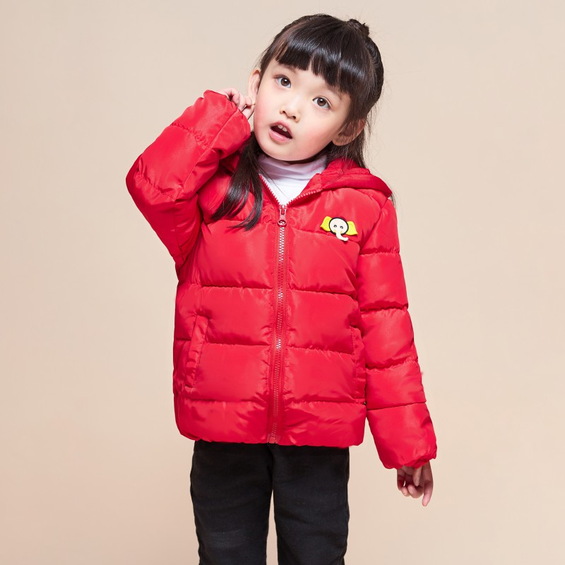 068a486c832 US $10.52 23% OFF|Children jackets winter dinosaur Pattern hooded baby  toddler boys jacket kids parka outerwear Parkas jacket for girl Cheap-in  Down & ...