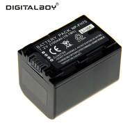DigitalBoy 1PCS NP FH70 NP FH70 NPFH70 Lithium Rechargeable Camera Battery For Sony NP FH60 DCR