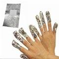 Алюминиевой Фольги Nail Art Soak Off Обертывания Remover Акриловые УФ Гель Лак для ногтей Очиститель Удаление Ногтей Макияж Инструмент