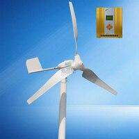 600w MAX POWER 800W Horizontal Wind Generator With MPPT 12v 24V Auto Recognition Wind Solar Hybrid