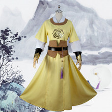 Jin ling mo dao zu shi anime cosplay grandmaster do cultivo demoníaco anime cosplay traje ouro roupa(China)