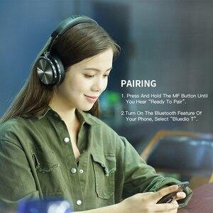 Image 4 - Bluedio T4 активное шумоподавление беспроводные Bluetooth наушники Беспроводная гарнитура с микрофоном для музыки